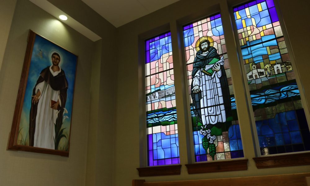 St. Dominic Stained Glass